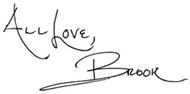 Brook's Signature