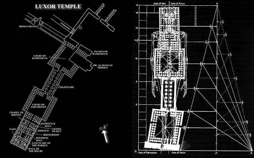 Temple of Man in Luxor