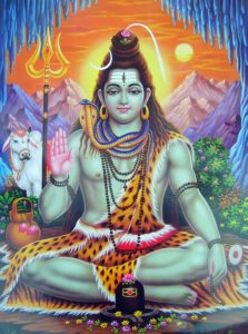 Five Divine Acts of Shiva